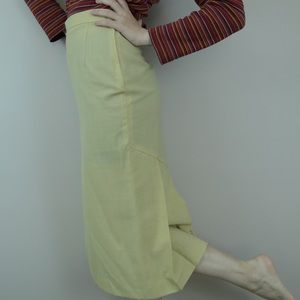 Vintage crisp cotton skirt
